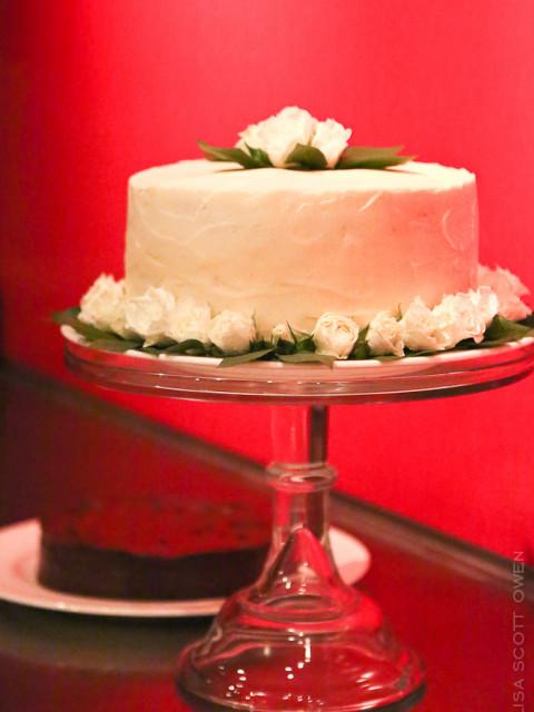 wedding cake organic vanilla cake