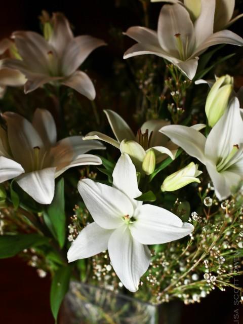 flowers the mark wedding