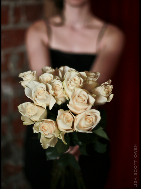 rose bouquet wedding the mark olympia