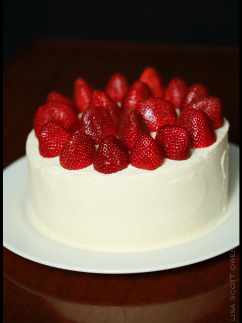 strawberry:cream cake the mark olympia
