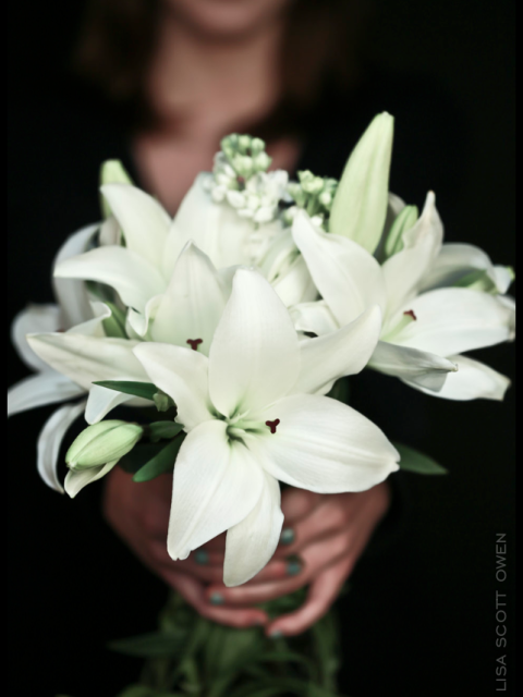 wedding lilies the mark olympia